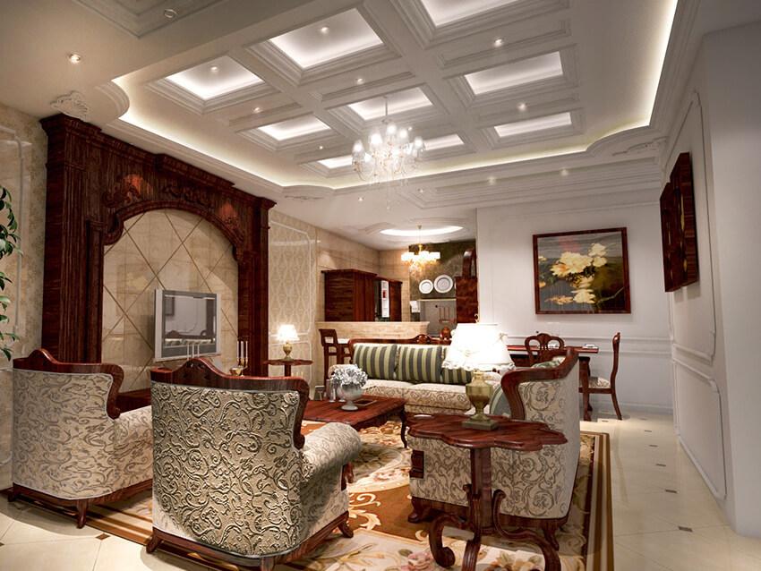 Interior Rumah Menggunakan GRC